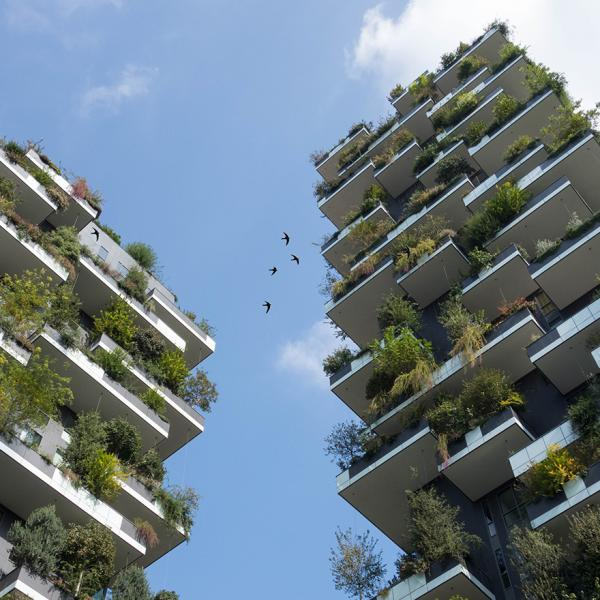 Bosco Verticale (The Vertical Forest) in Milaan